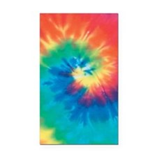 Tie Dye Vintage Pattern Rectangle Car Magnet