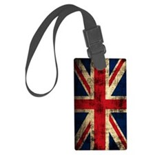 Union Jack Grunge Distressed Luggage Tag