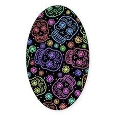 Day Of The Dead Pattern Decal