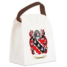 Popple Coat of Arms (Family Crest Canvas Lunch Bag