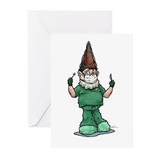 Surgeon Gnome Greeting Cards (Pk of 10)