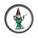 Surgeon Gnome Wall Clock