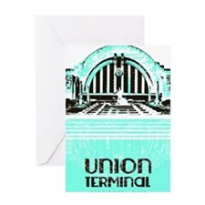 Union Terminal Greeting Card
