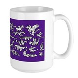 Lots O' Dragons Indigo Mug