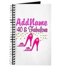 FABULOUS 40TH Journal