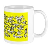 Lots O' Dragons Yellow Mug