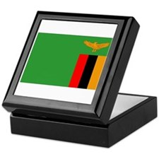 Cute Zambia pride Keepsake Box