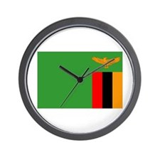 Unique Zambia pride Wall Clock
