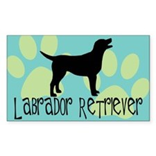labrador retriever Rectangle Decal
