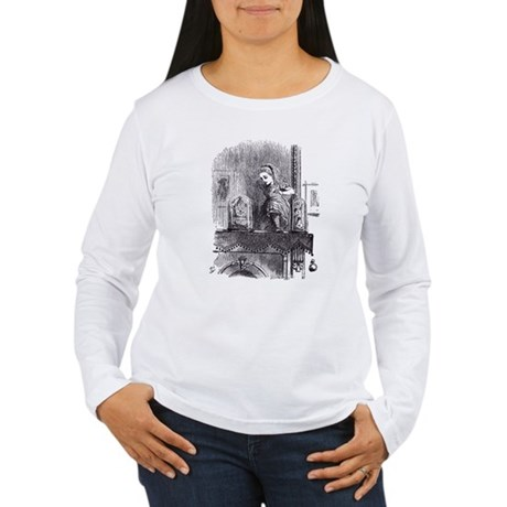 Looking Glass Back Women's Long Sleeve T-Shirt