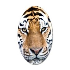 Makari Tiger Confidence peac Wall Decal