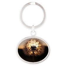 Glow Oval Keychain