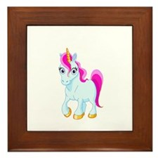 Unicorn Framed Tile
