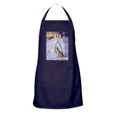 goddess bridget of imbolc Apron (dark)