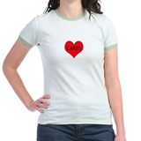 I Love Carbs - Women's Ringer T-shirt