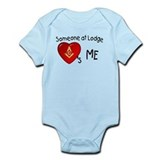 Masonic  Baby Onesie