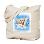 Italian Greyhound Lil Angel Tote Bag