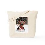Italian Greyhound Big genius Tote Bag