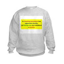 Cute Disabilities Sweatshirt