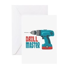 Drill Master Greeting Cards