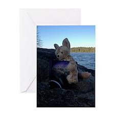 Fennecus Beach Greeting Card