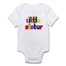 Little Sister (Gift for the New Baby) Infant Bodys