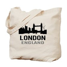 London England (gray) Tote Bag