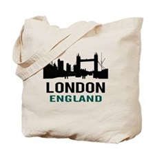 London England (green) Tote Bag