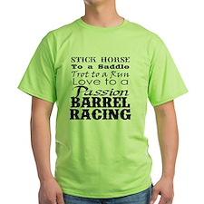 Barrel Racing Passion T-Shirt