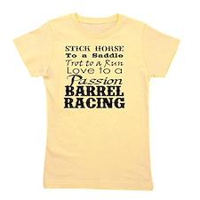 Barrel Racing Passion Girl's Tee