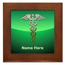 Doctor's Framed Tile