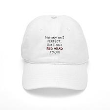 I am a red head too!!! Baseball Cap