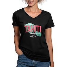 A Magical Place Women's V-Neck Dark T-Shirt