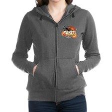 Greetings From Tahiti Women's Zip Hoodie