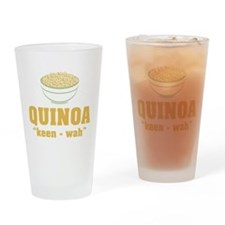 Quinoa Pronunciation Drinking Glass