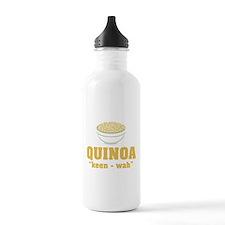 Quinoa Pronunciation Water Bottle