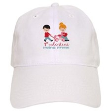 1st Valentines Day Together Baseball Cap