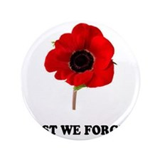 "POPPY - LEST WE FORGET! 3.5"" Button"