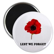 POPPY - LEST WE FORGET! Magnet