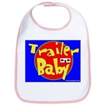 Trailer Baby Bib