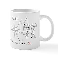 Pioneer 10 Plaque V3 Mug