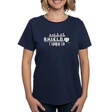 S.H.I.E.L.D. Women's Dark T-Shirt