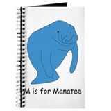 M is for Manatee Journal