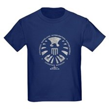 Marvel Agents of S.H.I.E.L.D. Kids Dark T-Shirt