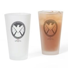 Metal Shield Drinking Glass