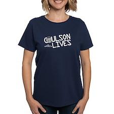 Coulson Lives Women's Dark T-Shirt