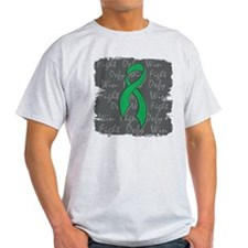 Liver Disease Fight Defy Win T-Shirt