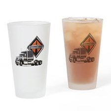 International Lone Star Semi Truck Drinking Glass