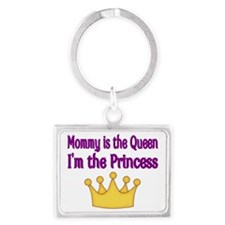 Mommy is the Queen Landscape Keychain