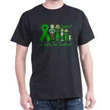 Bile Duct Cancer Support A Cure T-Shirt